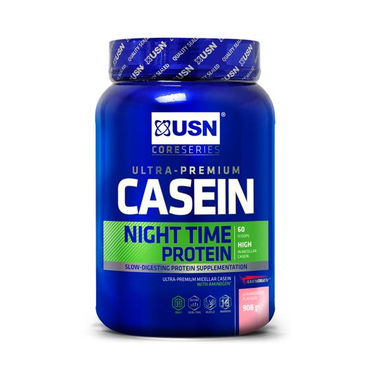 купить Proteine UN171 PREMIUM 8H CASEIN STRAWBERRY  908 g в Кишинёве