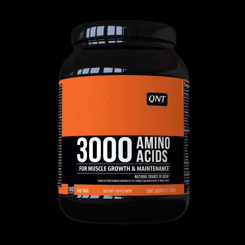 купить QNT AMINO ACID 3000 mg 300 TABS в Кишинёве