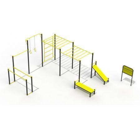 купить Уличный спорткомплекс Street Workout PTP 523-01A art. 9462 в Кишинёве