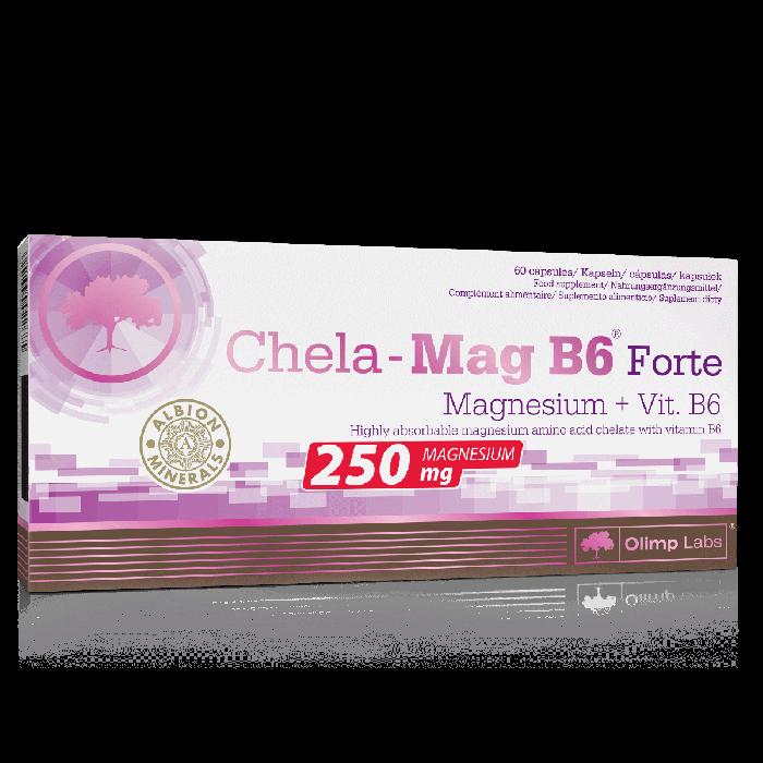 cumpără CHELA-MAG B6 FORTE MEGA CAPS 60 CAPS în Chișinău
