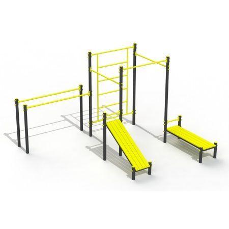 купить Уличный спорткомплекс Street Workout PTP 523-03 art. 9429 в Кишинёве