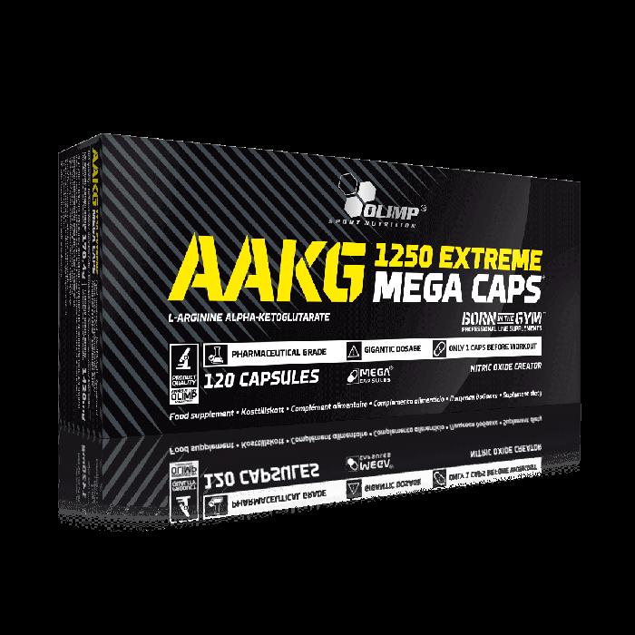cumpără AAKG 1250 EXTREME MEGA CAPS 120 CAPS în Chișinău