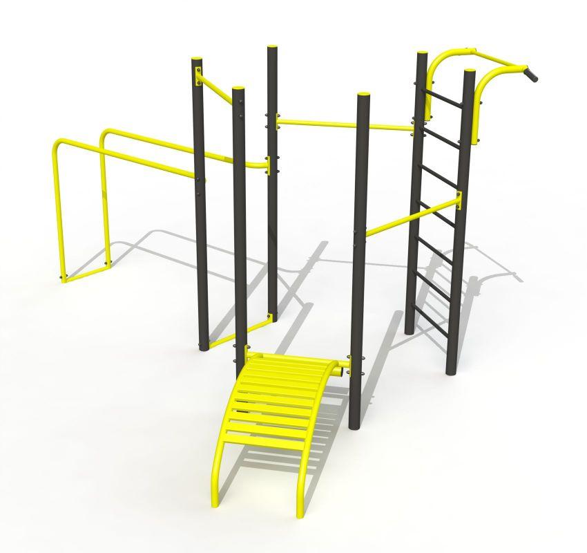 купить Уличный спорткомплекс Street Workout PTP 522 art. 3344 в Кишинёве