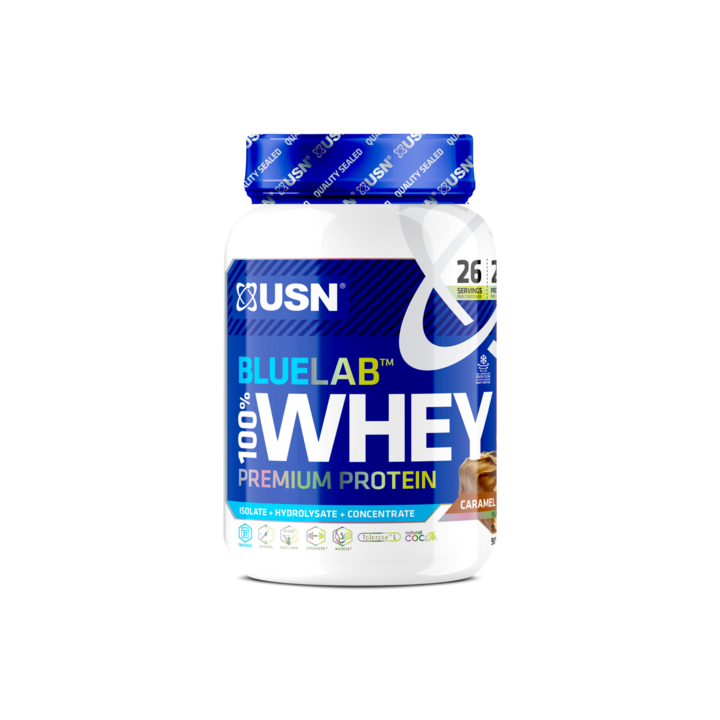 купить Proteine BLW05 BLUE LAB WHEY 908G CARAMEL CHOCOLATE в Кишинёве