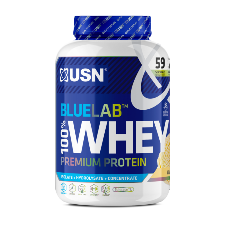 купить Proteine BLW13 BLUE LAB WHEY 2KG VANILLA в Кишинёве