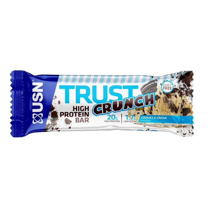 купить Trust Crunch Cookies & Cream 60g в Кишинёве