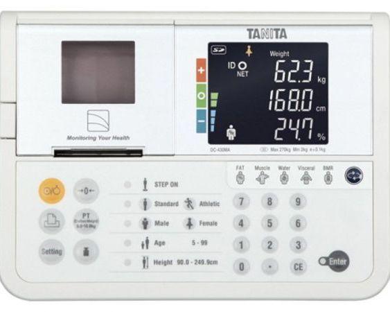 купить Анализатор композиционного состава организма TANITA DC-430MA aрт.8198 в Кишинёве
