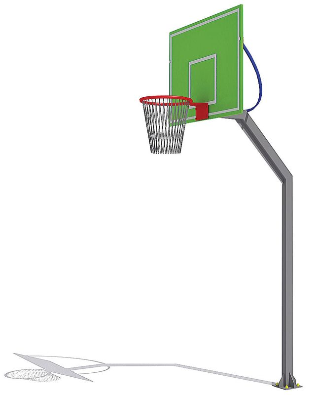 купить Стойка баскетбольная PTP 717 АРТ. 5003 в Кишинёве
