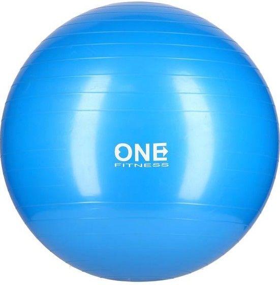 купить Фитбол GYM BALL 10 55CM ONE (blue) в Кишинёве