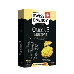 купить SWISS ENERGY OMEGA-3 MULTIVIT, CAPSULE N30 в Кишинёве