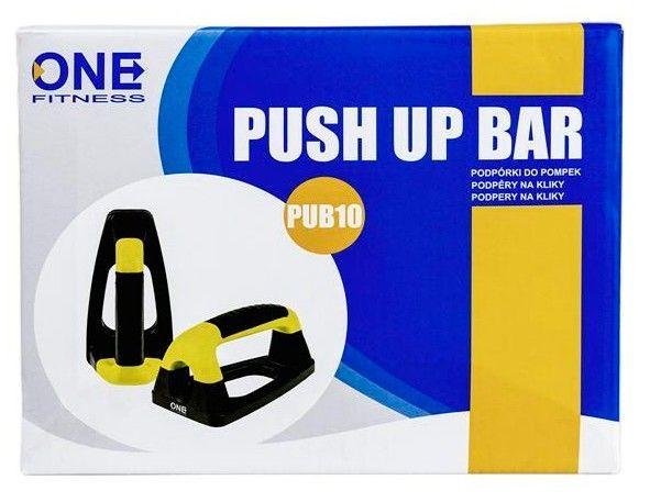 купить Упоры для отжиманий PUB10 PUSH UP BARS ONE FITNESS 17-45-100 в Кишинёве