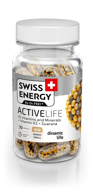 купить NanoCaps Swiss Energy ACTIVELIFE в Кишинёве