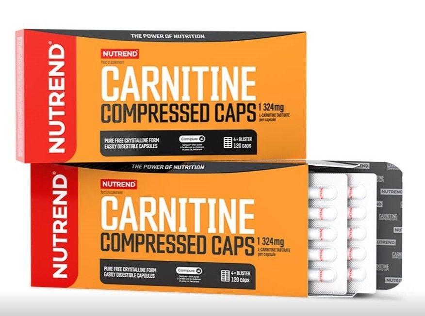 купить NT CARNITINE COMPRESSED CAPS, 120 caps в Кишинёве