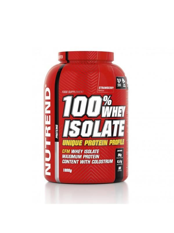 купить 100% Whey Isolate, 1800g strawberry в Кишинёве