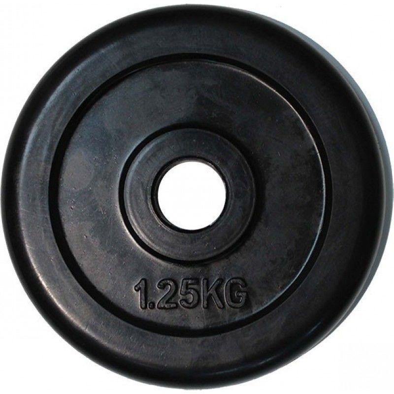 купить Диск обрезиненный 1.25 кг диаметр 30 мм в Кишинёве