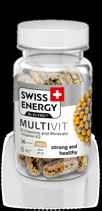 cumpără NanoCaps Swiss Energy MULTIVIT în Chișinău