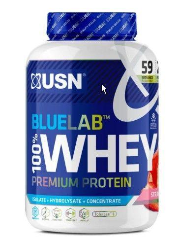 купить Proteine BLW12 BLUE LAB WHEY 2KG STRAWBERRY в Кишинёве