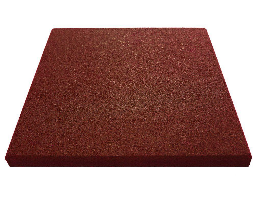 купить Резиновое напольное покрытие 25mm 0.5М*0.5М art. 3451 в Кишинёве