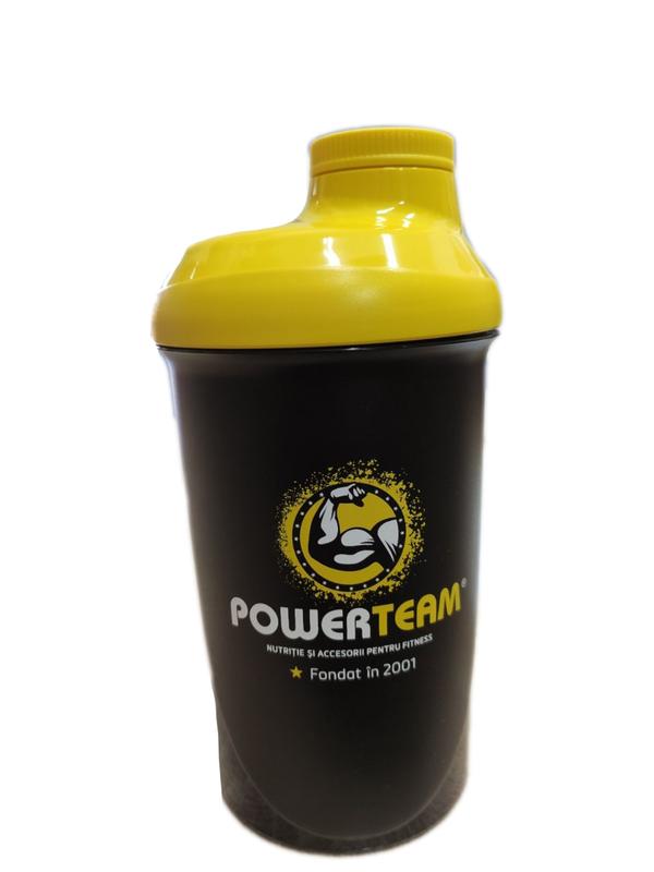 cumpără Shaker PowerTeam Black 500ml în Chișinău