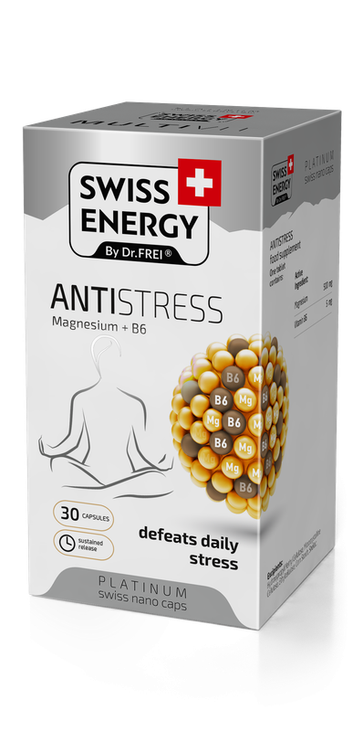 купить NanoCaps Swiss Energy ANTISTRESS в Кишинёве