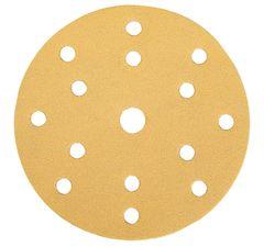 Шлифовальный круг Mirka  GOLD P180, 150mm, 15H 2361109918 100 шт/уп