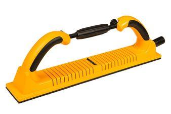 Ручной шлифовальный блок Premium 70х400мм 53 отв. гибкий