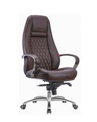 Кресло F185 (экокожа/коричневый)