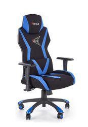 Кресло STIG (чёрный/синий)