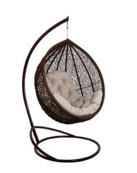 Кресло-кокон Vesta LUX коричневый
