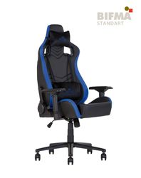 Кресло HEXTER PRO R4D Tilt MB70 ECO/01 черный-синий