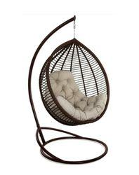 Кресло-кокон KIT коричневый