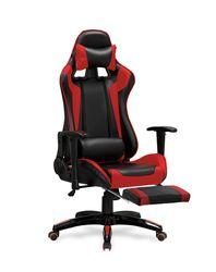 Кресло DEFENDER 2 (чёрный/красный)