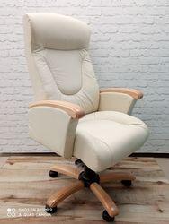 Кресло Galant MB, Buc, кожа Lux Vanil combi