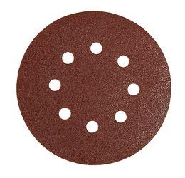 Шлифовальный круг Mirka  DEFLEX P120, 125mm, 8H 3061605012 50 шт/уп