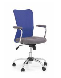 Кресло ANDY (синий/серый)
