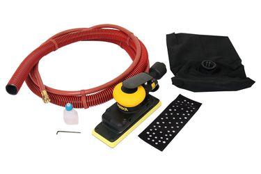 Шлифовальная пневматическая машинка MIRKA OS 383DB 70х198мм с мешком сбора пыли, 8991510111