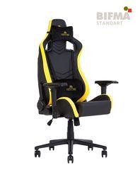 Кресло HEXTER PRO R4D Tilt MB70 ECO/01 черный-желтый
