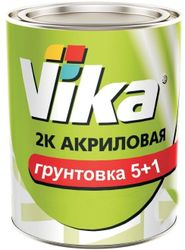 Грунтовка Vika 5+1 HS Акрил 2К Серая,