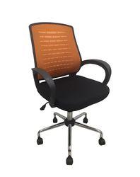 Кресло SMART orange/negru