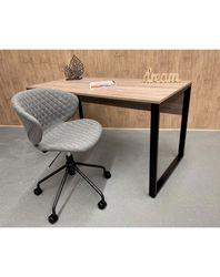 Стол 1400x680 (черный/дуб sonoma truffle)