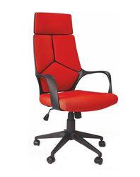 Кресло VOYAGER (черный/красный)
