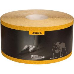 Наждачная бумага в рулоне Mirka  GOLD P180, 2351100118 115mmx50m