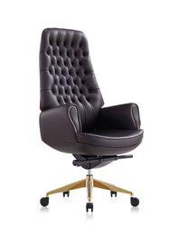 Кресло 9132 Prezident (натуральная кожа/коричневый)