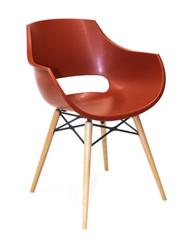 Кресло Opal wox (красный матовый)
