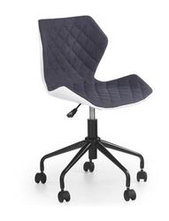 Кресло MATRIX (серый/белый)