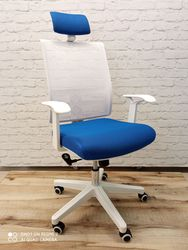 Кресло Alex синий W008