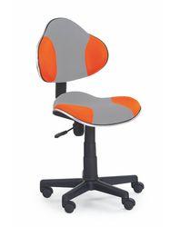 Кресло FLASH 2 (серый/оранжевый)