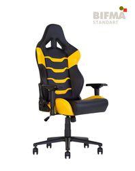 Кресло HEXTER RC R4D Tilt MB70 ECO/02 черный-желтый