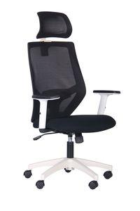 Кресло Lead HR (белый/nest 1/spate HY черный)