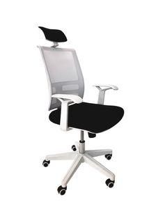 Кресло Alex W008 черный